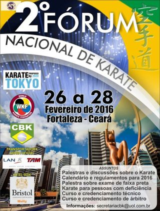 II FORUM NACIONAL DE KARATE